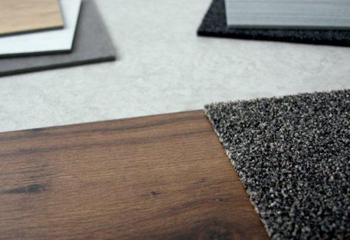 Designboden, Vinylböden, Akkustik, Sauberlauf, Teppich